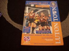 Luton Town v Leicester City, 1995/96